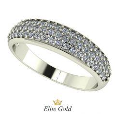 Эксклюзивное женское кольцо Savanna усыпанное камнями