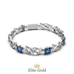 Дизайнерский женский браслет Samira с крупными камнями