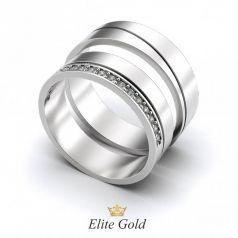 Авторские обручальные кольца Emily