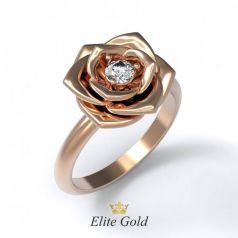 Эксклюзивное женское кольцо Alice в виде цветка