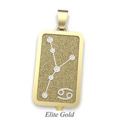 Кулон Stella в желтом и белом золоте