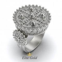 Фантазийное мужское кольцо Доспехи рыцаря