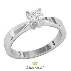 кольцо Daisy в белом золоте 585