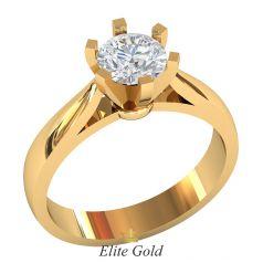 кольцо Dara в красном золоте
