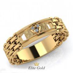 Дизайнерское обручальное кольцо Sandy со звеньями