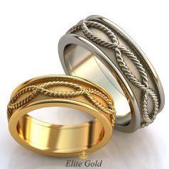 Эксклюзивные обручальные кольца Eclectic без камней