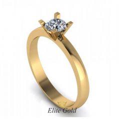 Изысканное женское кольцо Janis с камнем по центру