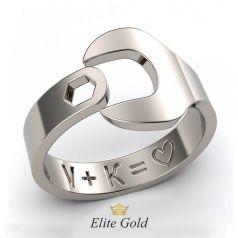 Креативное женское кольцо в виде гаичного ключа