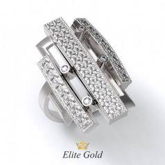 Эксклюзивное женское кольцо Estetica в камнях