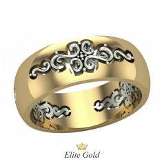 Авторское женское кольцо Adelita с узорами