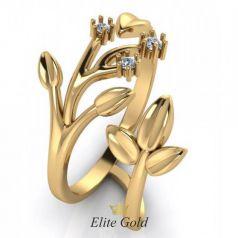 Эксклюзивное женское кольцо Ramita в виде веточки