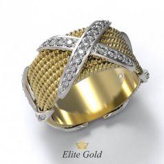 Дизайнерское женское кольцо Sollievo в камнях