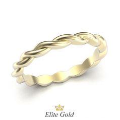 кольцо Tiaret в лимонном золоте
