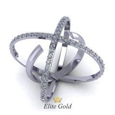 Эксклюзивное женское кольцо Esfera в камнях