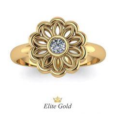 Авторское женское кольцо Fiora в виде цветка