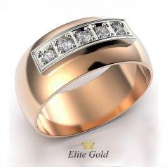 Элегантное женское гладкое кольцо Femenino с камнями