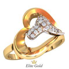 Эксклюзивное женское кольцо Doppio amore