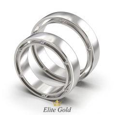 кольца в стиле Дамиани в белом золоте