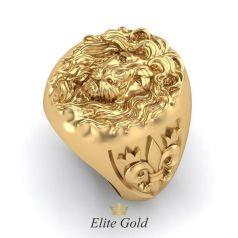 Авторское кольцо Testa di leone
