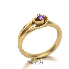 Авторское элегантное кольцо Romanza