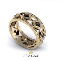Дизайнерское кольцо Rombo в камнях