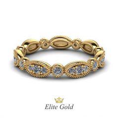 Женское обручальное кольцо Marlena с дорожкой камней по кругу