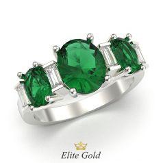 кольцо Emmanuelle в белом золоте