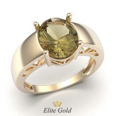 кольцо Soledad в красном золоте 585