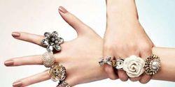 женские кольца ручной работы