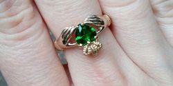 Кладдахское кольцо со вставками – символ любви, верности и дружбы