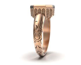 вид кольца с торца