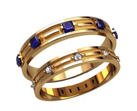 обручальные кольца дорожки с камнями