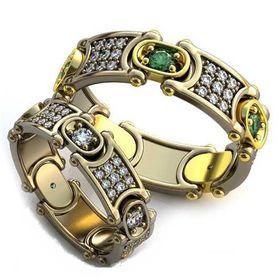 обручальные кольца авторские браслеты