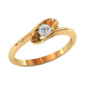 женское кольцо для помолвки