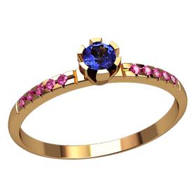 небольшое женское помолвочное кольцо