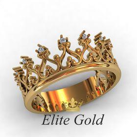 классическое кольцо корона