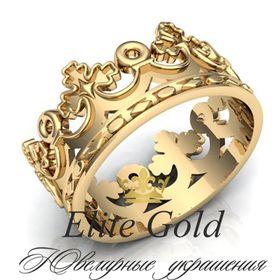 универсальное кольцо корона для мужчины и женщины