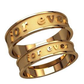 обручальные кольца for ever вместе и навсегда