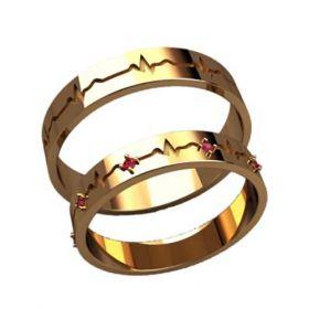 обручальные кольца пульс