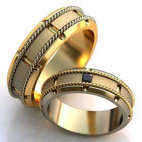 обручальные кольца с веночками