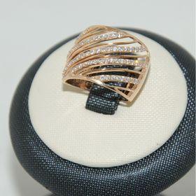 женское широкое кольцо 0858