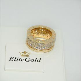 кольцо в стиле имдпфкн zero 1 diamonds лимонное золото