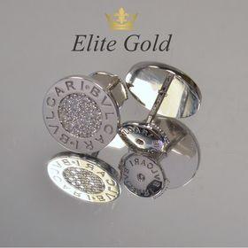 серьги bvlgari bvlgari с камнями в белом золоте
