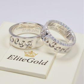 обручальные кольца с именами