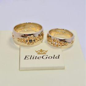 обручальные авторские кольца с камнями фантазийные белое и красное золото с черными и белыми камнями