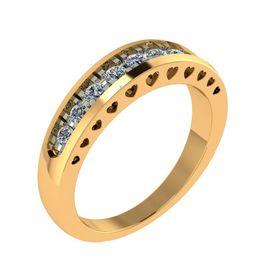 кольцо изабелла с средечками