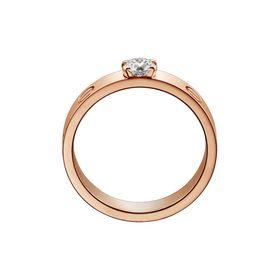 кольцо в стиле Cartier Love, вид сбоку