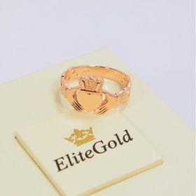 кольцо в красном золоте