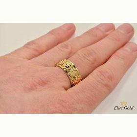 кольцо луна и солнце на руке