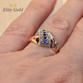 """Авторский женский перстень """"Garland"""" на руке"""